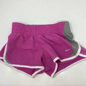 Nike Pink Grey Athletic Shorts XS